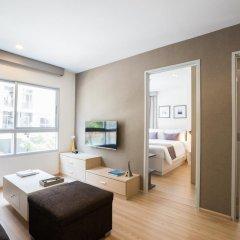 Отель The Grass Serviced Suites by At Mind Люкс с 2 отдельными кроватями фото 6