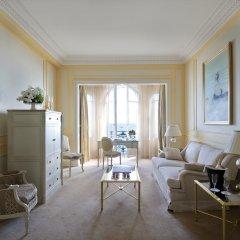 Отель InterContinental Carlton Cannes 5* Улучшенный люкс с различными типами кроватей фото 2