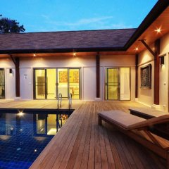 Отель Two Villas Holiday Oriental Style Layan Beach 4* Вилла с различными типами кроватей фото 22