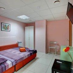 Мини-отель Брусника у метро Красносельская Номер с общей ванной комнатой с различными типами кроватей (общая ванная комната) фото 12