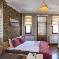 Отель Green Bird Suit 4* Студия с различными типами кроватей фото 7