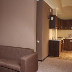 Гостиница Горная Резиденция АпартОтель Люкс с двуспальной кроватью
