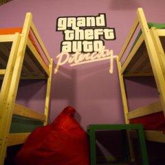 Game Hostel Кровать в общем номере с двухъярусной кроватью