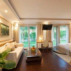 Отель MerPerle Hon Tam Resort 5* Номер Делюкс с различными типами кроватей фото 10