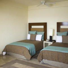 Отель Camino Real Acapulco Diamante 4* Номер Делюкс с различными типами кроватей фото 3