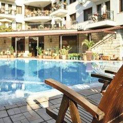 Отель Villa Maria Revas Болгария, Солнечный берег - отзывы, цены и фото номеров - забронировать отель Villa Maria Revas онлайн бассейн