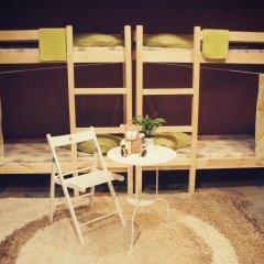 Хостел Полянка на Чистых Прудах Кровать в общем номере с двухъярусной кроватью фото 9