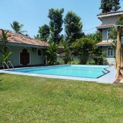 Отель Villa La Luna Шри-Ланка, Берувела - отзывы, цены и фото номеров - забронировать отель Villa La Luna онлайн бассейн фото 3