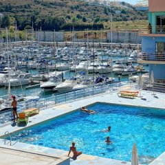 Отель Apartamentos da Marina бассейн