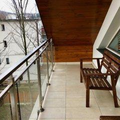 Отель Apartamenty Smile балкон