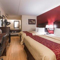 Отель Red Roof Inn PLUS+ Columbus-Ohio State University OSU 2* Номер Делюкс с различными типами кроватей фото 5