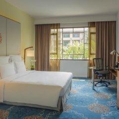 Отель Swissotel Merchant Court Singapore 4* Номер Делюкс с различными типами кроватей фото 4