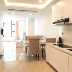 Апартаменты Phi Yen Nha Trang Blue Sea Apartments Апартаменты с различными типами кроватей