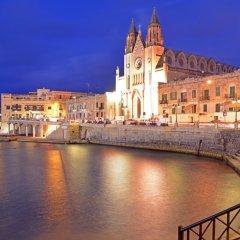 Отель Le Méridien St Julians Hotel and Spa Мальта, Баллута-бей - отзывы, цены и фото номеров - забронировать отель Le Méridien St Julians Hotel and Spa онлайн приотельная территория