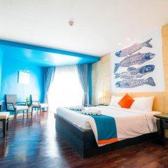 Отель Sea Breeze Jomtien Resort 4* Улучшенный номер с различными типами кроватей фото 7