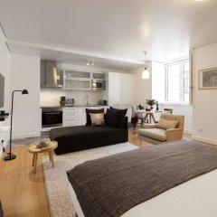 Апартаменты Lisbon Serviced Apartments Baixa Castelo Студия с различными типами кроватей фото 11