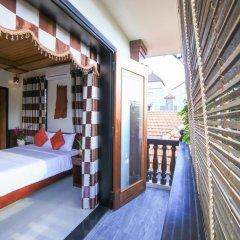 Отель Quang Xuong Homestay 2* Номер Делюкс с различными типами кроватей фото 7