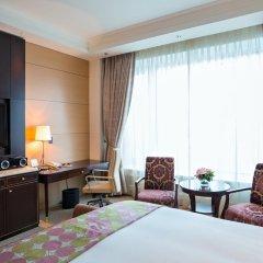 Лотте Отель Москва 5* Улучшенный номер разные типы кроватей фото 4