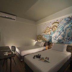 Cacha Hotel 3* Стандартный номер двуспальная кровать фото 2