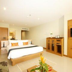 Отель The Heritage Pattaya Beach Resort 4* Номер Делюкс с различными типами кроватей фото 14