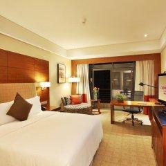 Отель Crowne Plaza Chongqing Riverside 4* Номер Делюкс с различными типами кроватей фото 3