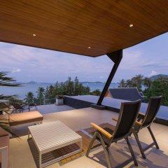 Отель Aqua Villa A.1 by Natthita балкон