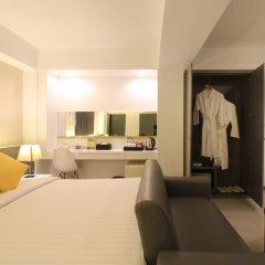 Отель Myhotel Cmyk@Ratchada 3* Полулюкс с различными типами кроватей фото 11