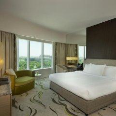Отель Hilton Capital Grand Abu Dhabi 5* Стандартный номер с различными типами кроватей фото 2