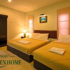 Отель Phuket Garden Home Стандартный номер с двуспальной кроватью фото 10