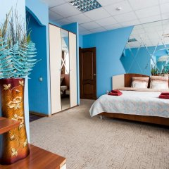 Гостиница Америго 3* Стандартный номер с двуспальной кроватью фото 2