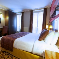Отель Abbatial Saint Germain 3* Улучшенный номер с различными типами кроватей фото 4