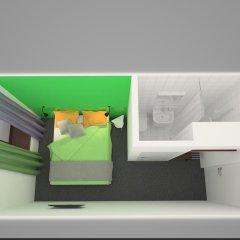 Гостиница Станция G73 3* Стандартный номер с двуспальной кроватью фото 2