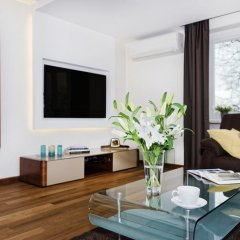 Апартаменты ASKI New Powisle Apartment комната для гостей фото 5