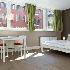 Отель Apartmenthouse Berlin - Am Görlitzer Park комната для гостей фото 5
