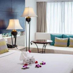 Отель Novotel Phuket Resort 4* Улучшенный номер с двуспальной кроватью фото 2