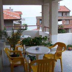 Отель Guest House Kostandara Болгария, Поморие - отзывы, цены и фото номеров - забронировать отель Guest House Kostandara онлайн балкон