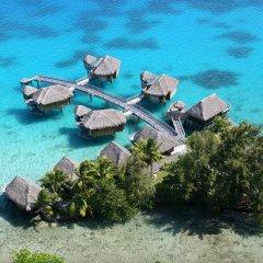 Отель Sofitel Bora Bora Marara Beach Resort 4* Улучшенное бунгало с различными типами кроватей фото 6