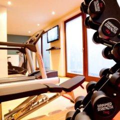 Отель arcona LIVING BACH14 Германия, Лейпциг - 1 отзыв об отеле, цены и фото номеров - забронировать отель arcona LIVING BACH14 онлайн фитнесс-зал
