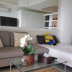 Отель Sky Beach Condominium 2* Улучшенные апартаменты с различными типами кроватей фото 10