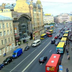 Hostel Capital Санкт-Петербург балкон