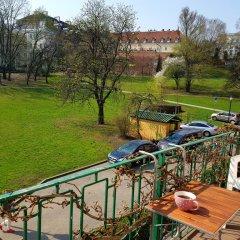 Отель Mieszkanko koło Zamku балкон