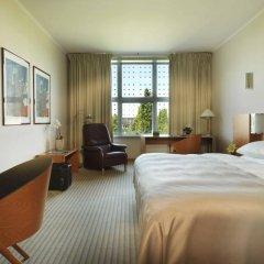 Отель Hilton Munich Airport 4* Стандартный номер разные типы кроватей фото 8