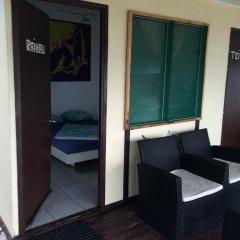Отель Pension Rangiroa Plage балкон