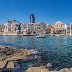 Отель Ddream Hotel Мальта, Сан Джулианс - отзывы, цены и фото номеров - забронировать отель Ddream Hotel онлайн пляж