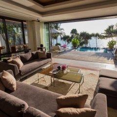 Отель Trisara Villas & Residences Phuket 5* Стандартный номер с различными типами кроватей фото 23