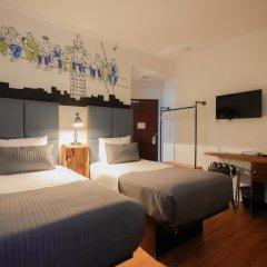 Отель CITY ROOMS NYC - Soho Стандартный номер с 2 отдельными кроватями