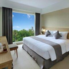 Отель Jimbaran Bay Beach Resort & Spa 4* Улучшенный номер с различными типами кроватей фото 2