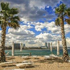 Отель Habitat Apartments Banys Испания, Барселона - отзывы, цены и фото номеров - забронировать отель Habitat Apartments Banys онлайн пляж фото 2