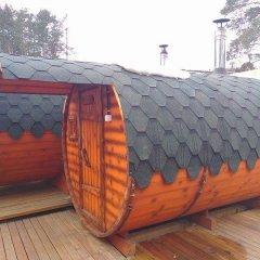 Гостиница Уральский Теремок Коттедж с различными типами кроватей фото 10