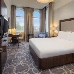 Hilton Glasgow Grosvenor Hotel 4* Номер Делюкс с двуспальной кроватью фото 2